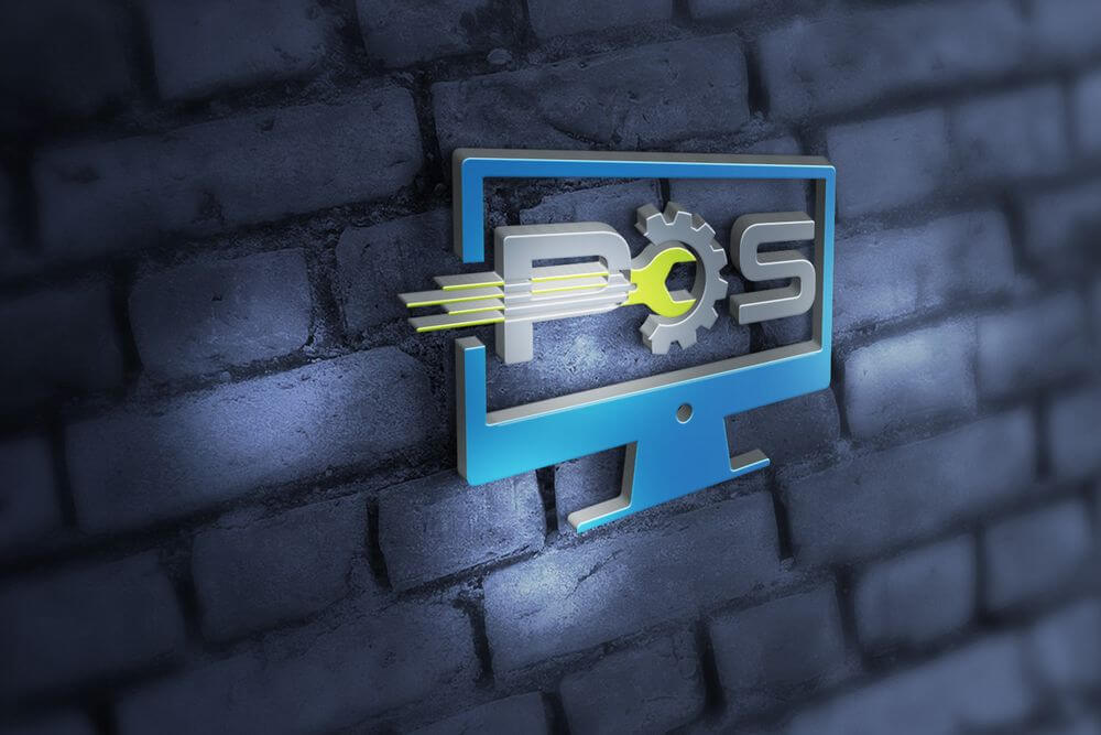 Création logo POS Informatique