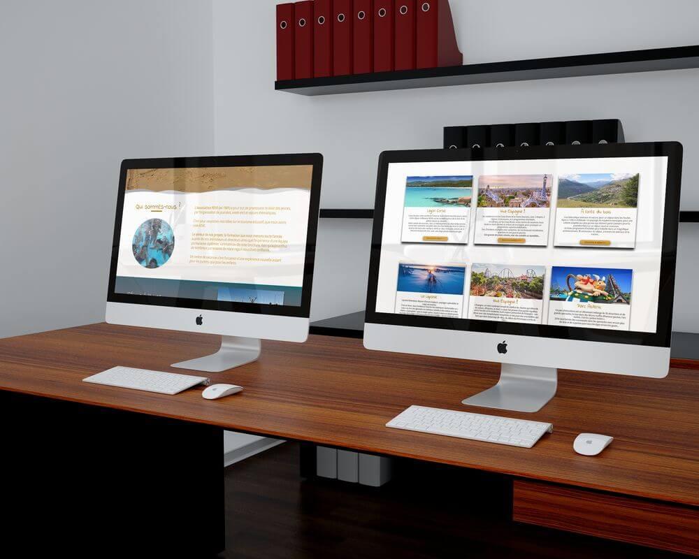 Création site internet association Rêve