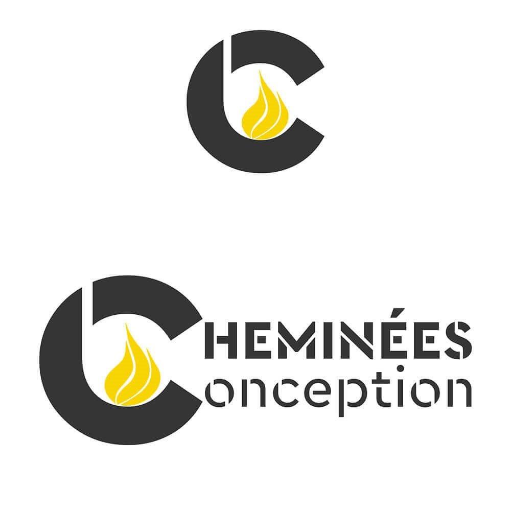 Création logo Cheminées Conception