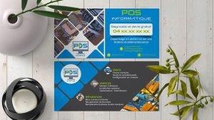 Création flyer POS Informatique