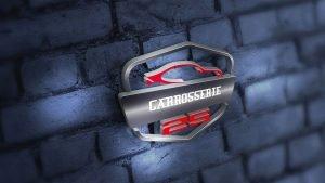 Création logo Carrosserie 25