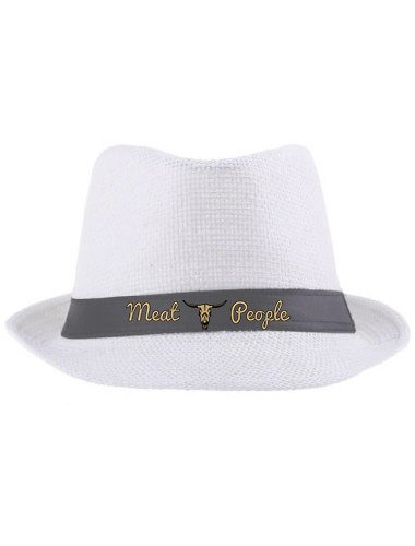 Création textile chapeau Meat People