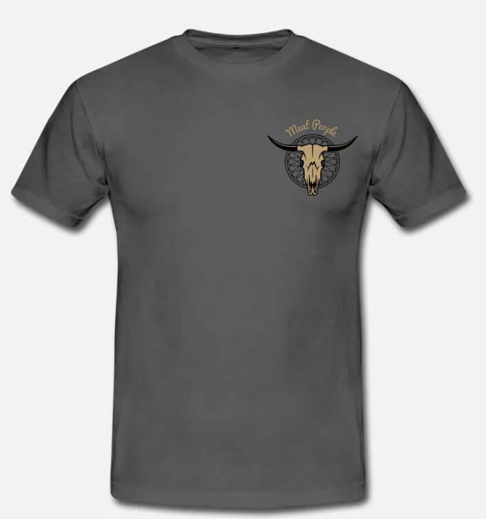 Création textile teeshirt Meat People