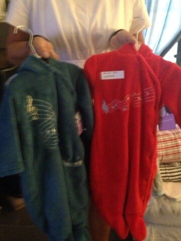 Création textile pyjama Doudoussimo