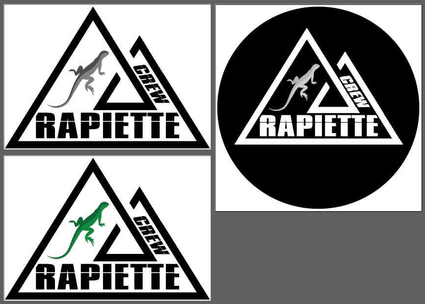 Création logo Rapiette Crew