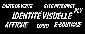 prestations proposées en tant que freelance en création de site internet et infographie