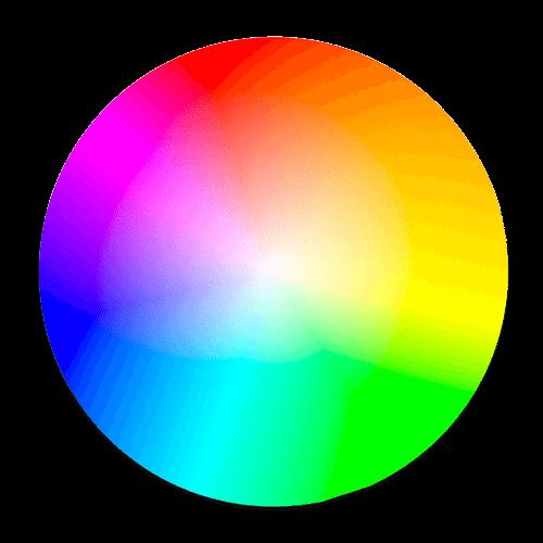 choix de la palette de couleurs